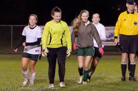 9529 Girls Varsity Soccer v Casc-Chr 101111