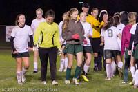 9536 Girls Varsity Soccer v Casc-Chr 101111