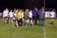 9541 Girls Varsity Soccer v Casc-Chr 101111