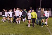 9546 Girls Varsity Soccer v Casc-Chr 101111