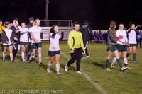 9555 Girls Varsity Soccer v Casc-Chr 101111