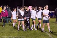 9561 Girls Varsity Soccer v Casc-Chr 101111