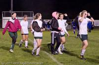 9567 Girls Varsity Soccer v Casc-Chr 101111