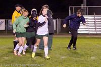 9570 Girls Varsity Soccer v Casc-Chr 101111