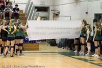 3091 VHS Volleyball Seniors Night 2011 101011