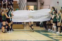 3128 VHS Volleyball Seniors Night 2011 101011