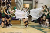 3131 VHS Volleyball Seniors Night 2011 101011