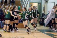 3153 VHS Volleyball Seniors Night 2011 101011