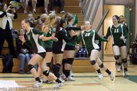 3166 VHS Volleyball Seniors Night 2011 101011