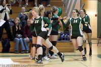 3172 VHS Volleyball Seniors Night 2011 101011
