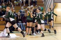 3173 VHS Volleyball Seniors Night 2011 101011