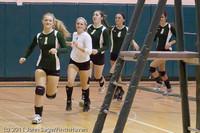 3175 VHS Volleyball Seniors Night 2011 101011