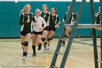 3177 VHS Volleyball Seniors Night 2011 101011