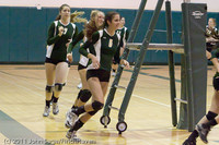 3188 VHS Volleyball Seniors Night 2011 101011