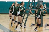 3190 VHS Volleyball Seniors Night 2011 101011
