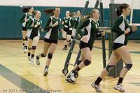 3192 VHS Volleyball Seniors Night 2011 101011