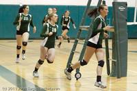 3194 VHS Volleyball Seniors Night 2011 101011
