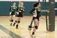 3198 VHS Volleyball Seniors Night 2011 101011