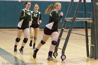 3199 VHS Volleyball Seniors Night 2011 101011