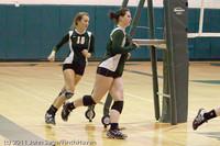 3203 VHS Volleyball Seniors Night 2011 101011