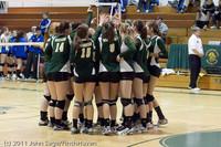 3209 VHS Volleyball Seniors Night 2011 101011