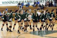 3216 VHS Volleyball Seniors Night 2011 101011