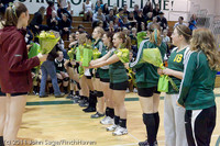 3244 VHS Volleyball Seniors Night 2011 101011