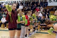 3246 VHS Volleyball Seniors Night 2011 101011