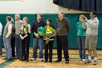 3249 VHS Volleyball Seniors Night 2011 101011