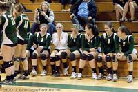 3253 VHS Volleyball Seniors Night 2011 101011
