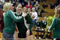 3268 VHS Volleyball Seniors Night 2011 101011