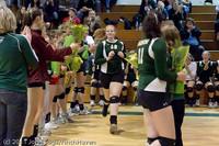 3269 VHS Volleyball Seniors Night 2011 101011