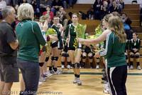 3281 VHS Volleyball Seniors Night 2011 101011