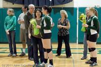 3297 VHS Volleyball Seniors Night 2011 101011