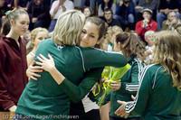 3309 VHS Volleyball Seniors Night 2011 101011