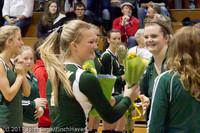 3331 VHS Volleyball Seniors Night 2011 101011