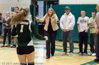 3337 VHS Volleyball Seniors Night 2011 101011