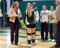 3343 VHS Volleyball Seniors Night 2011 101011