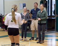 3370 VHS Volleyball Seniors Night 2011 101011