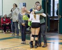 3376 VHS Volleyball Seniors Night 2011 101011