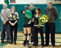 3403 VHS Volleyball Seniors Night 2011 101011