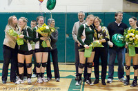 3505 VHS Volleyball Seniors Night 2011 101011
