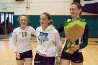1943 VHS Volleyball Seniors Night 2012 102412