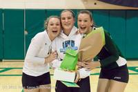 1944 VHS Volleyball Seniors Night 2012 102412