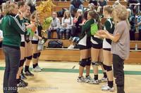 1951 VHS Volleyball Seniors Night 2012 102412