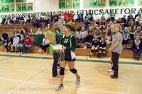 1954 VHS Volleyball Seniors Night 2012 102412