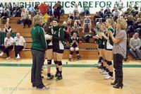1964 VHS Volleyball Seniors Night 2012 102412