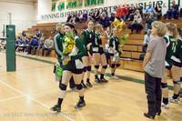 1969 VHS Volleyball Seniors Night 2012 102412