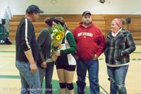 1973 VHS Volleyball Seniors Night 2012 102412