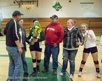 1974 VHS Volleyball Seniors Night 2012 102412